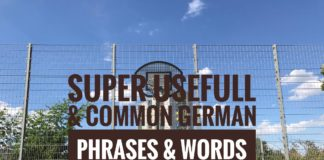 Super Useful and Common German Phrases and Words