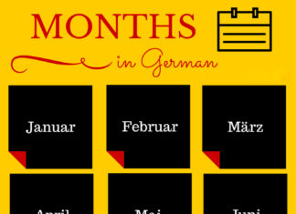 THE GERMAN CALENDAR