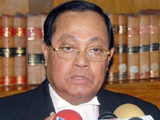 Barrister Moudud Ahmed