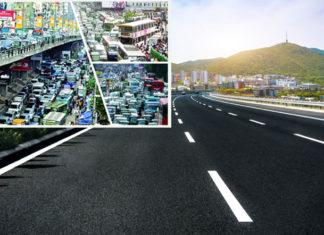 যানজট নিরসনে ঢাকার জন্য 'চলন্ত রাস্তা'যানজট নিরসনে ঢাকার জন্য 'চলন্ত রাস্তা'