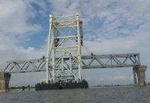 The first span of the Padma Bridge has been placed