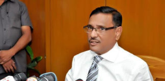 Road Transport and Bridges Minister Obaidul Quader