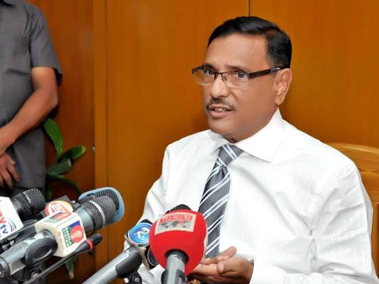 Road Transport and Bridges Minister Obaidul Quader