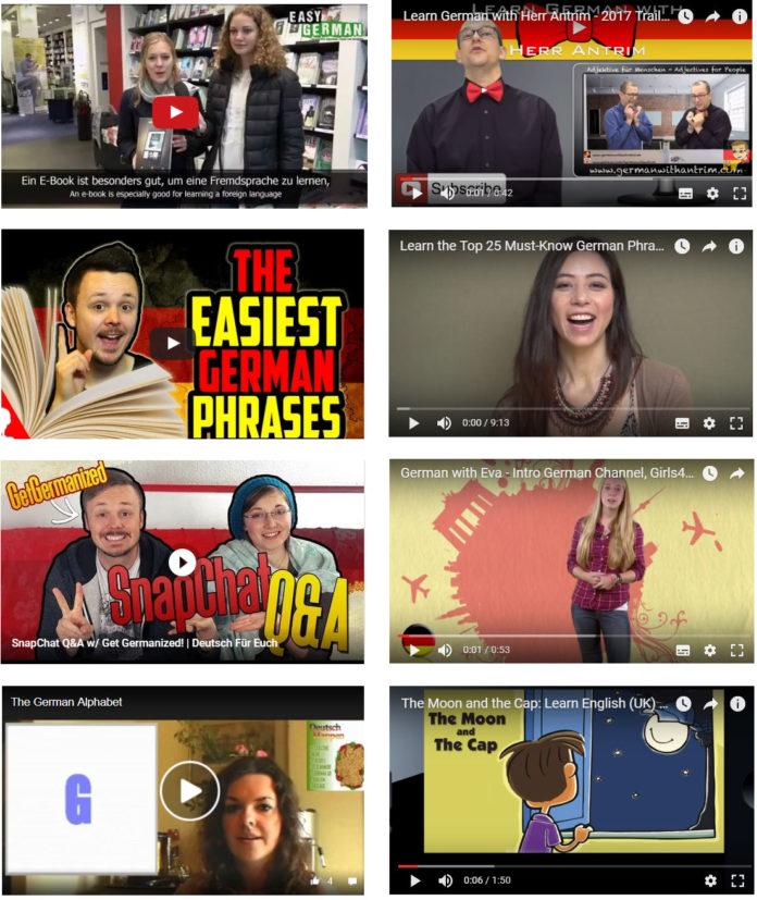 আসুন জেনে নেই কিছু YouTube channels এর নাম যেগুলুর মাধ্যমে ফ্রিতে জার্মান ভাষা শিখতে পারবেন