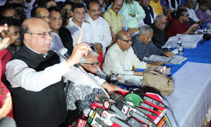 বেগম খালেদা জিয়া ভাড়াটে খেলোয়াড়দের নিয়ে এসেছেন, যাদের কোনো গ্রহণযোগ্যতা নেই